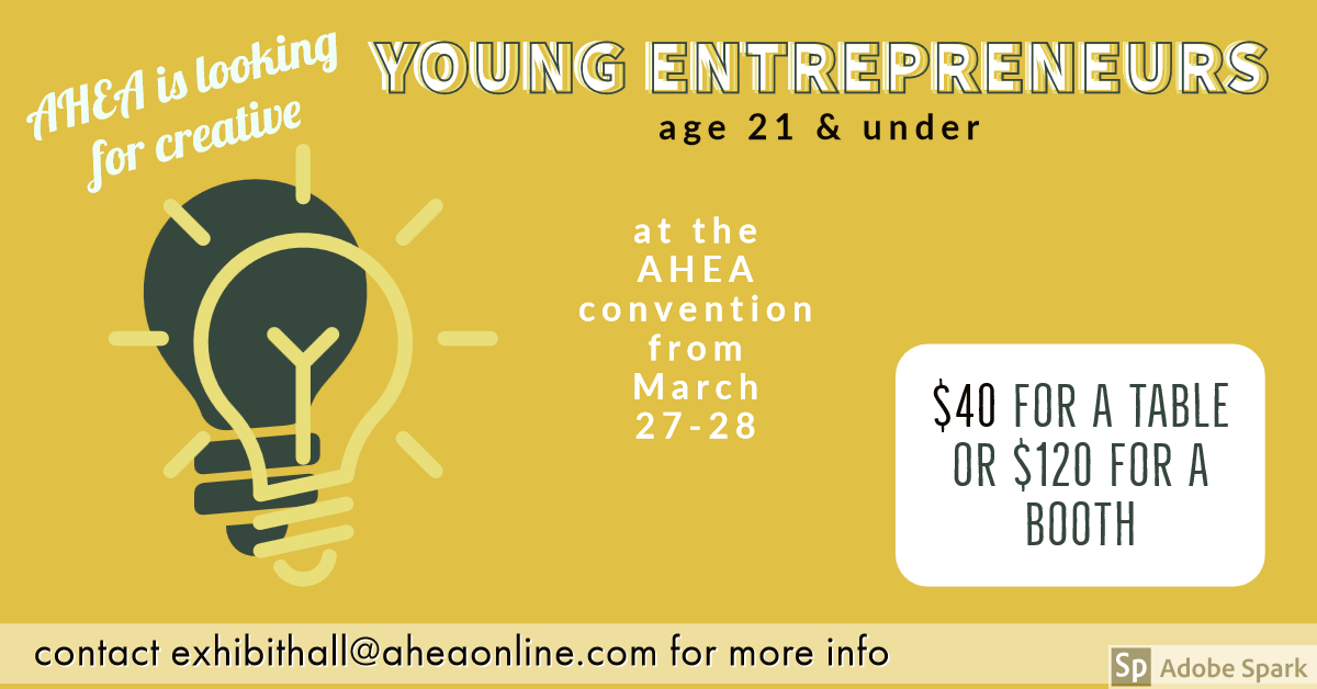 Looking for Young Entrepreneurs, Ages 21 & Under